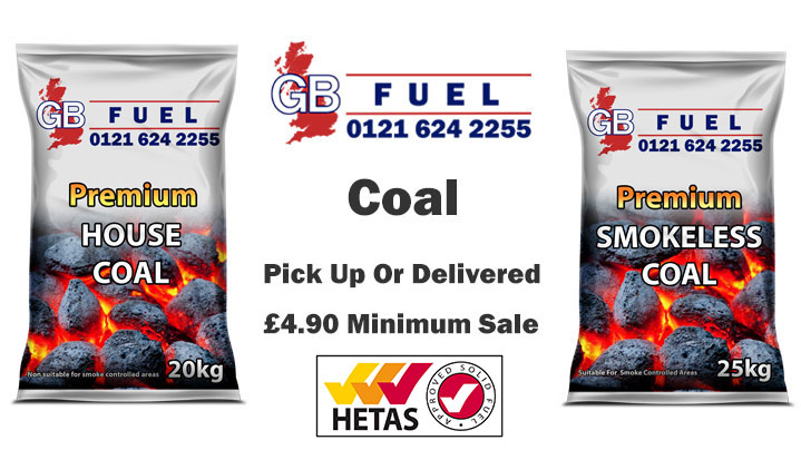 Buy Hetas Approved Coal In Birmingham