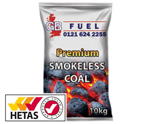 Smokeless Coal 10kg HETAS approved