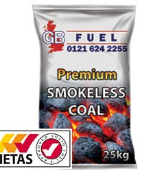 Smokeless Coal 25kg HETAS approved